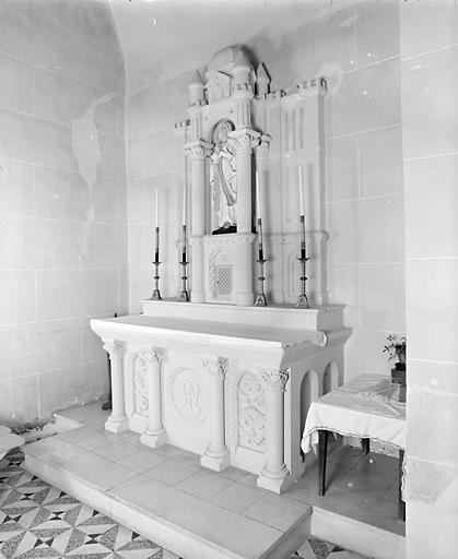 autel ; retable