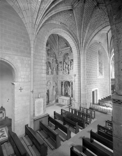ensemble(3 revêtement muraux, clôture) : dit la Belle-Chapelle, dit Chapelle de la Vierge