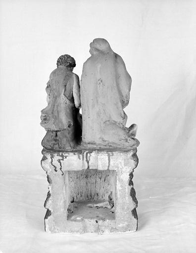 groupe sculpté : Vierge de Pitié et saint Jean ?