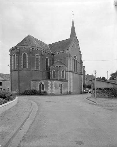 église paroissiale Saint-Aubin