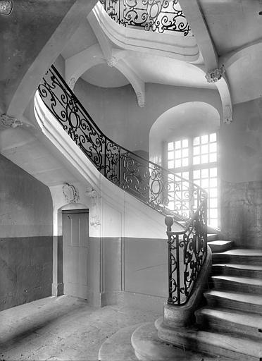 Photo de 5ème escalier du monument Abbaye aux Hommes (ancienne) Caen