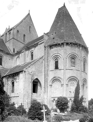 Photo de Abside, côté sud-est du monument Eglise Saint-Nicolas (ancienne) Caen