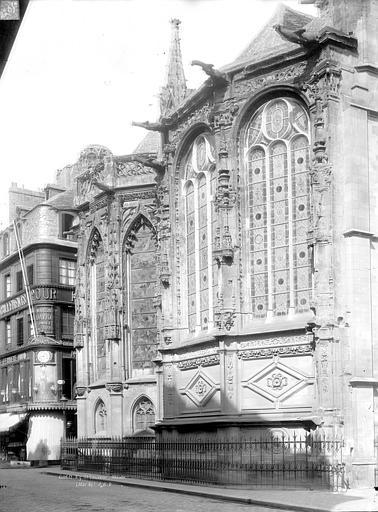 Photo de Abside, côté nord du monument Eglise Notre-Dame-de-Froide-Rue (ancienne) ou Eglise Saint-Sauveur (actuelle) Caen