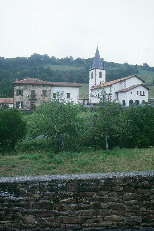 maison forte appelée Jauregia, actuellement ferme