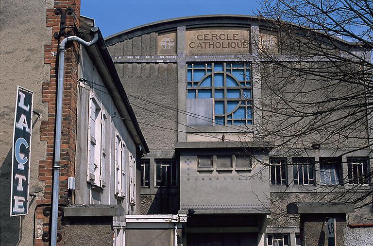 salle de patronage du Cercle Catholique dite La Cité, actuellement édifice sportif
