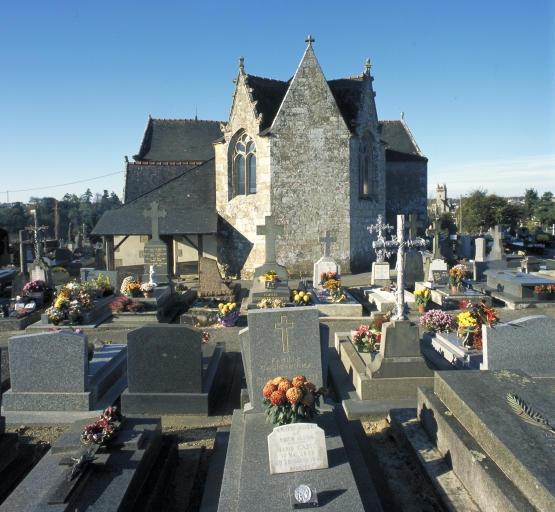 Chapelle Saint-David, actuellement chapelle du cimetière