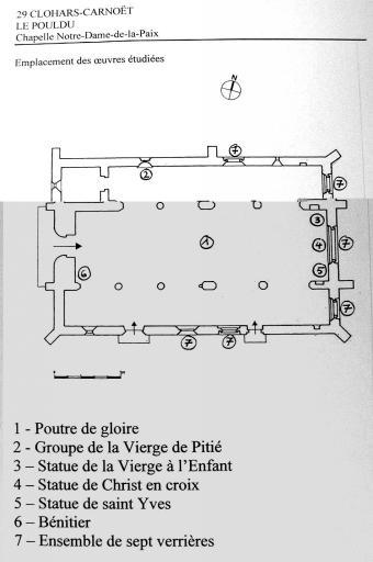 Le mobilier de la chapelle Notre-Dame-de-la-Paix
