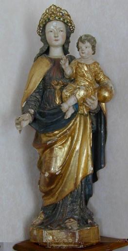 Statue de la Vierge à l'Enfant dite Notre-Dame-de-Bon-Secours