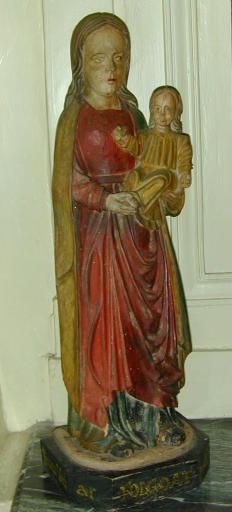Statue de la Vierge à l'Enfant dite Notre-Dame du Folgoat