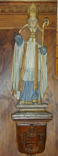 Statues de saint Corentin et de saint François de Sales