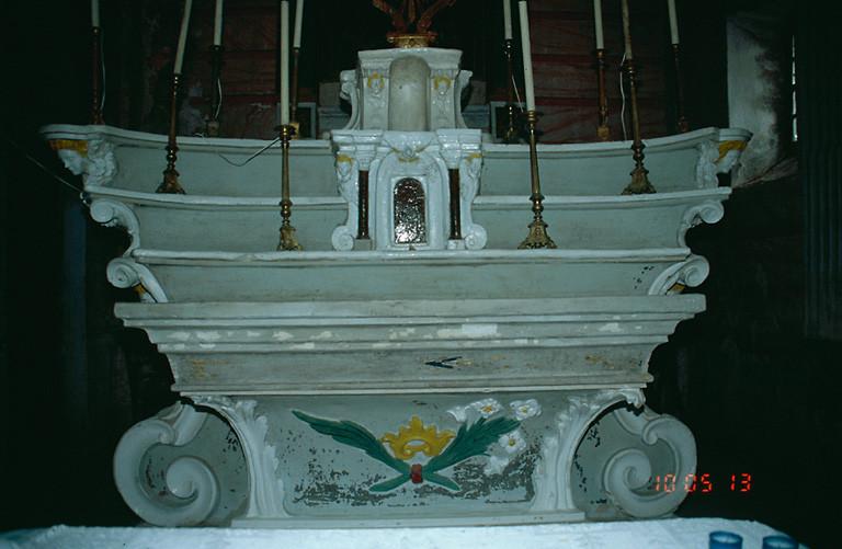 ensemble du maître-autel de saint Etienne