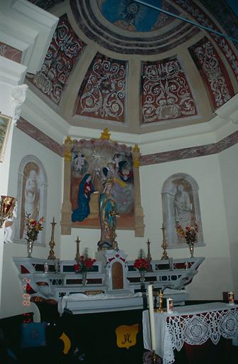 ensemble du maître-autel de l'Annonciation