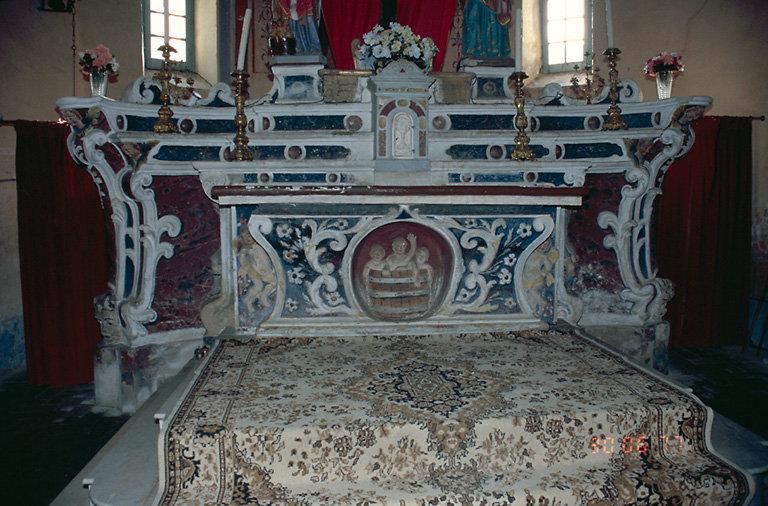 ensemble du maître-autel de saint Nicolas