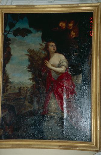 tableau d'autel : Sainte Marie-Madeleine