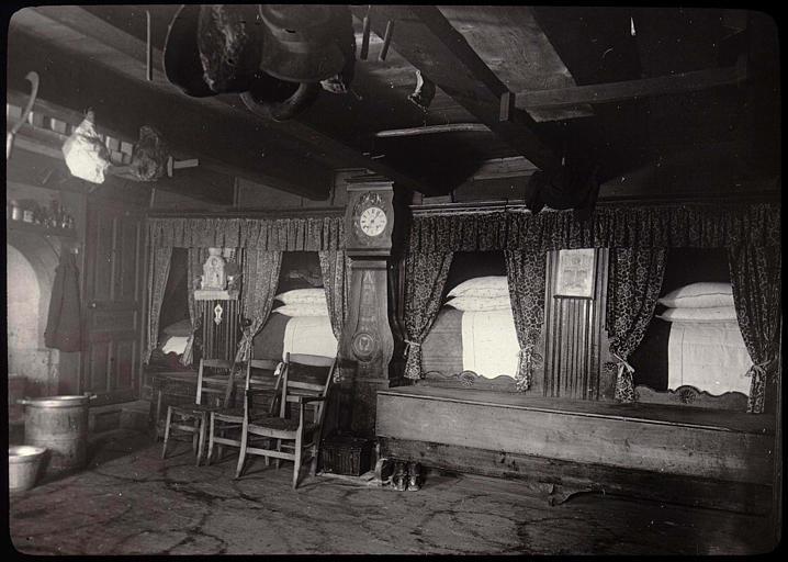 pice avec lits en alcve photographie a serres mdiathque de larchitecture - Lits Alcove