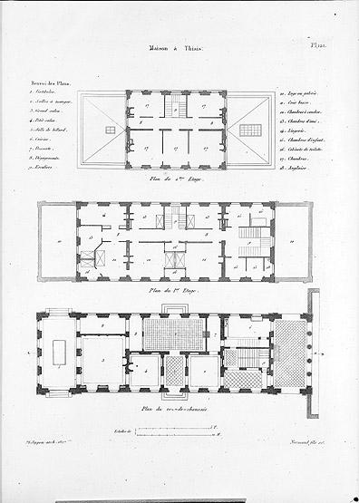 Maison de ma tre monument historique de thiais actuacity for Architecture maison de maitre