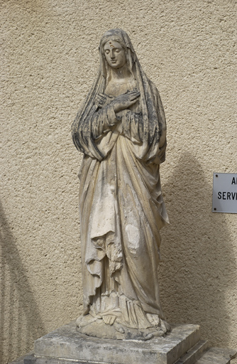 statue : sainte Marie