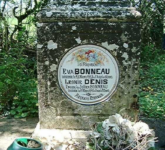 Cimetière privé de la famille Bonneau