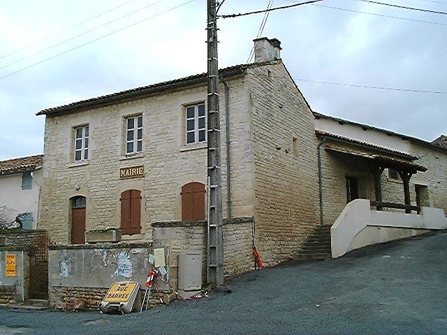 Maison, mairie