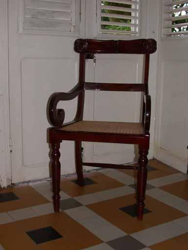4 fauteuils dits berceuses