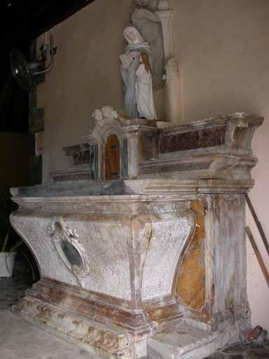 autel de Sainte Anne