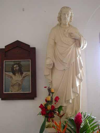 Statue du Sacré Coeur
