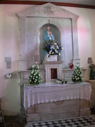 autels de la Vierge
