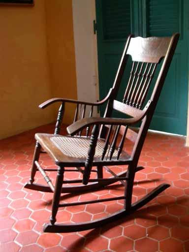 fauteuil dit berceuse