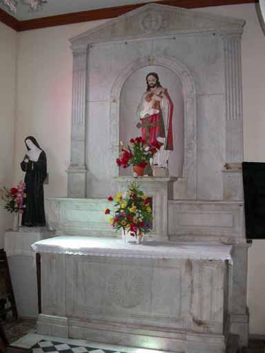 autels du Sacré Coeur