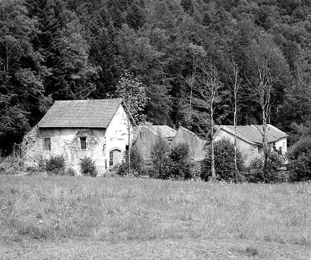 tissage de coton Boigeol-Japy dit de la Papeterie, puis pisciculture, actuellement maison