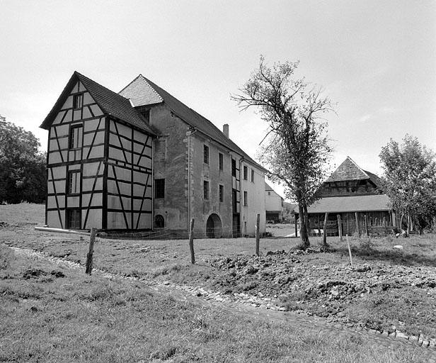 moulin à farine, actuellement musée du moulin de Courtelevant