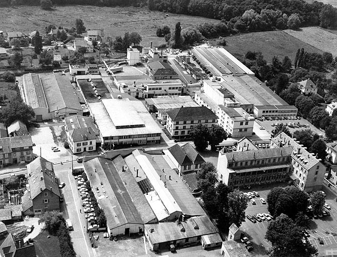 couvent de dominicaines, usine de construction électrique (usine d'isolants électriques des Usines Diélectriques de Delle), actuellement Von-Roll Isola