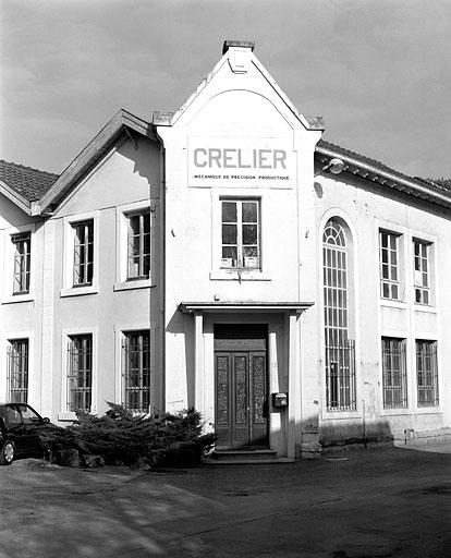 usine de matériel d'équipement industriel Page, puis Chaudel-Page, puis Socolest, actuellement usine de mécanique de précision Crelier