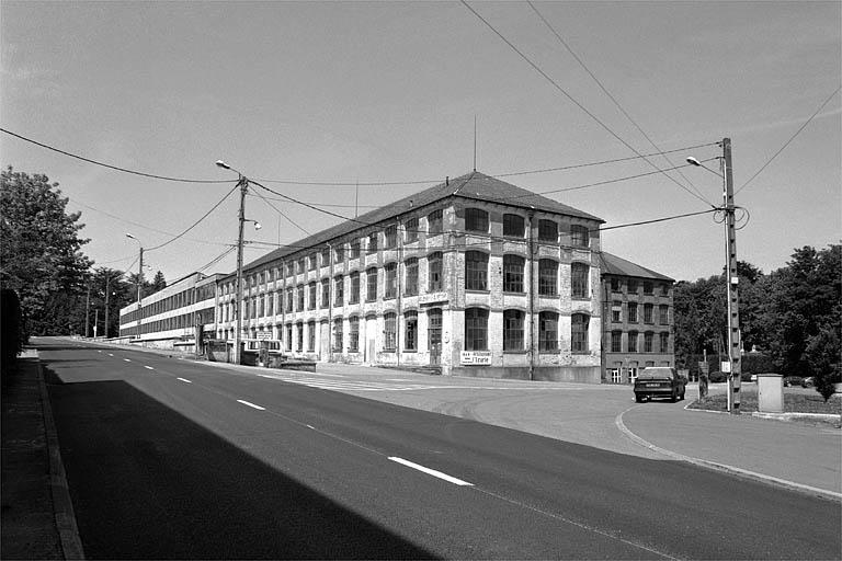 usine de mécanique de précision, de quincaillerie et de matériel d'équipement industriel Japy, dite usine des Fonteneilles
