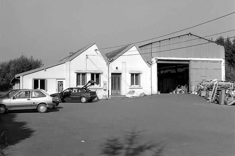 fonderie Bugnon, actuellement entreprise de plomberie-chauffage Ziegler