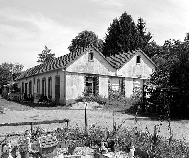 usine de boissellerie Woerlin, puis usine de petite métallurgie Hanauer-Woerlin, actuellement atelier