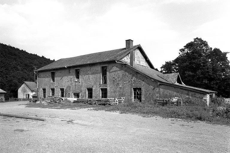 usine de préparation de produit minéral Keller, puis scierie Munsch