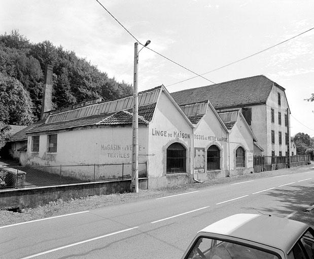 tissage de coton Boigeol-Japy dit du Pont, puis Jean-Ernest Boigeol et Cie, puis Industrie Textile de Lepuix-Gy