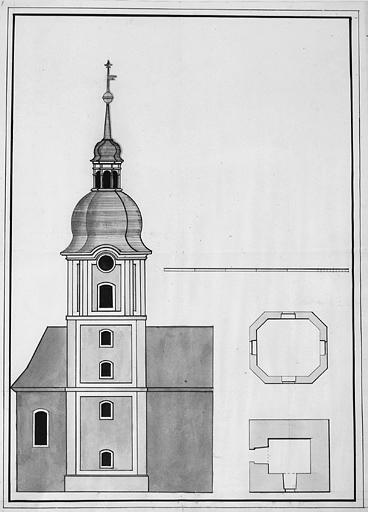 église paroissiale, collégiale Saint-Maimboeuf
