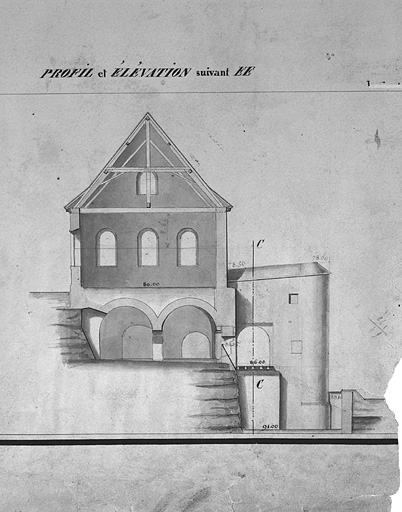 chancellerie, chapelle