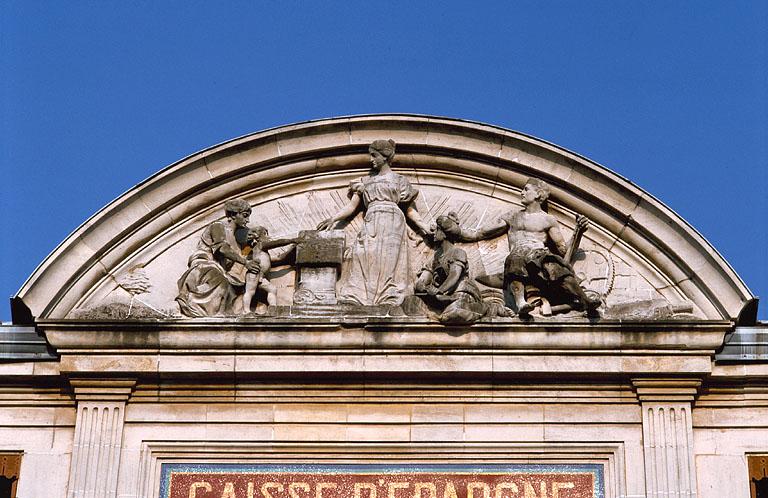 école française, banque