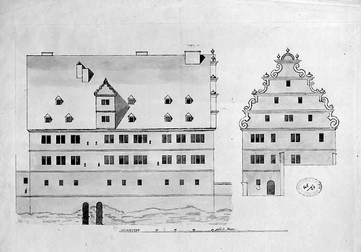 hôtel dit Maison des Courtisans