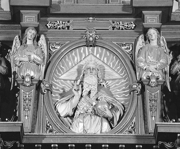 retable de l'ensemble du maître-autel