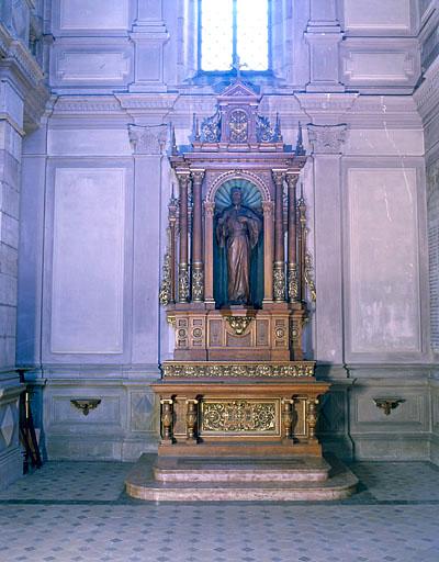 ensemble de l'autel de saint Joseph