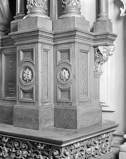 retable de l'ensemble de l'autel de saint Joseph