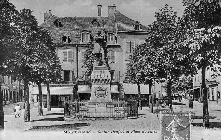 monument commémoratif du colonel Denfert-Rochereau