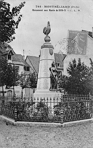 monument aux morts de la guerre de 1870-1871