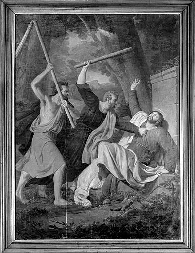 tableau : le Martyre de saint Maimboeuf