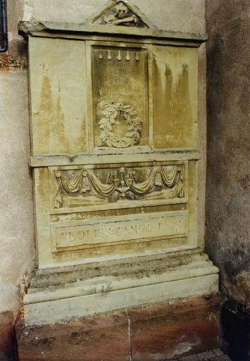 Monument sépulcral des époux Breymann et Deyber