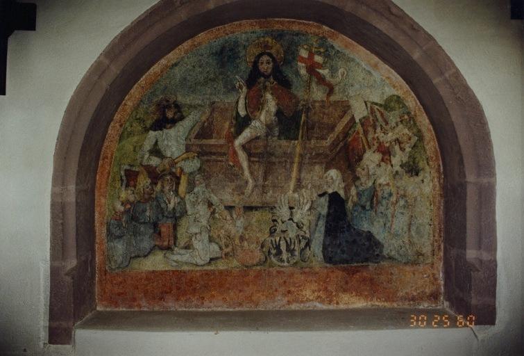 peinture monumentale : La résurrection